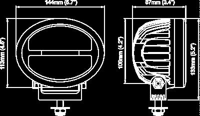 NORDIC ANTARES LED N33