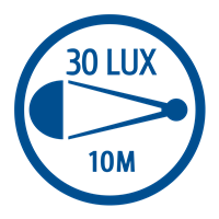 LIGHT OUTPUT (30 LUX)