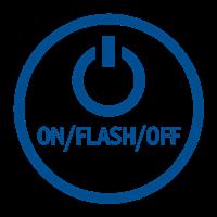 ON/FLASH/OFF