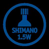 SHIMANO 1.5W HUB DYNAMO COMPATIBLE