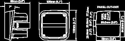 NORDIC KL1301 LED F7°